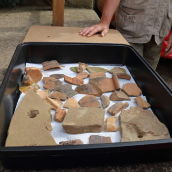 Finds from chapel excavation [John Watts]
