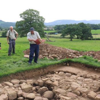 Kildale chapel excavation [John Watts]