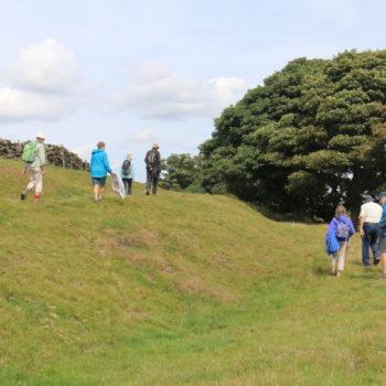 PLACE members on Round Hill [John Watts]